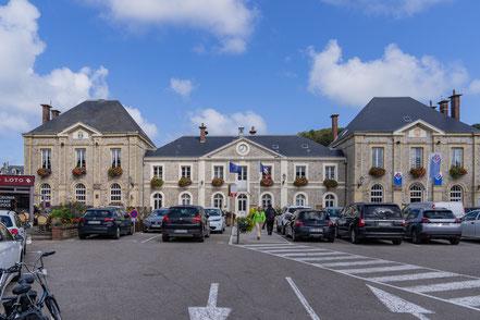 Ètretat in der Normandie im Département Seine-Maritime