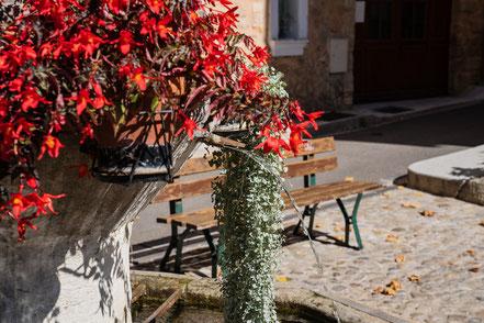 Bild: Bédoin am Place de la Bourgade