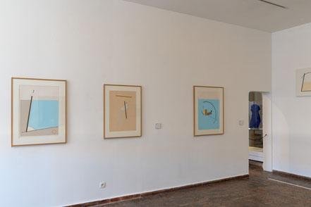 Bild: Bilder von Edik Steinberg im Musée Picasso in Antibes