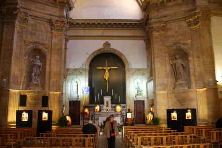 Bild: Chapelle des Oblats am Ende des Cours Miraubeau in Aix-en-Provence