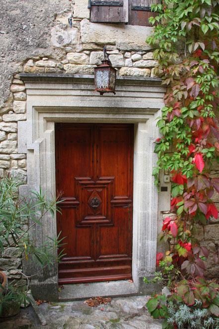 Bild: Tür in Crestet