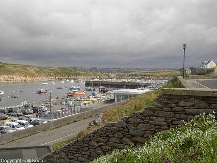 Bild: Blick auf den Hafen von Le Conquet