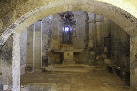 Bild: Chapelle de Belvezet im Fort Saint André in Villeneuve-les-Avignon