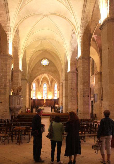 Bild: Kirche in Roquemaure