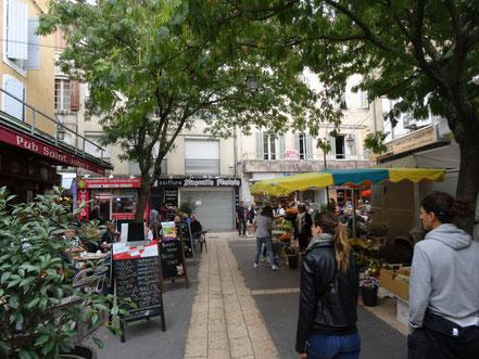 Bild: Markt in Apt