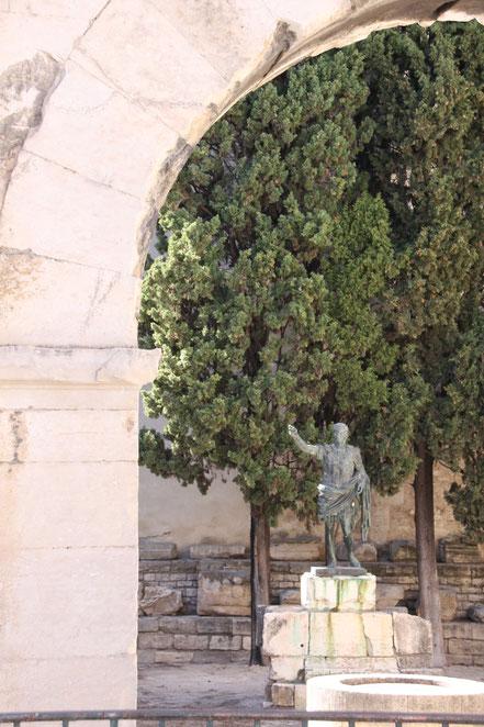Bild Porte d´Auguste in Nimes