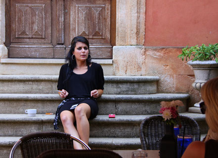 Bild: Ruhepause in Roussillon