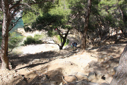 Bild: Wanderung in der Calanque de Morigou