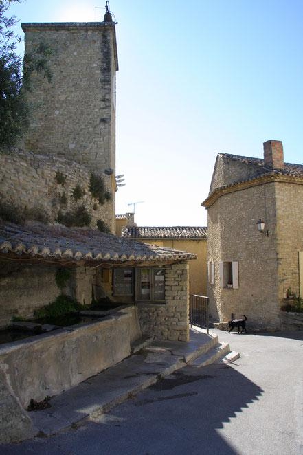 Bild: Waschplatz in Venasque
