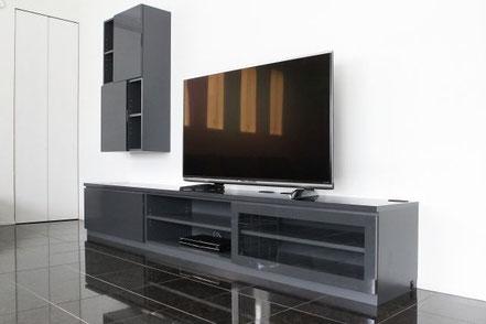 オーダー家具,テレビボード,飾り棚