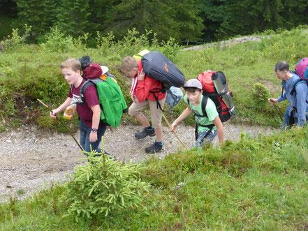 Wandern mit Kindern in den Kitzbühler Alpen