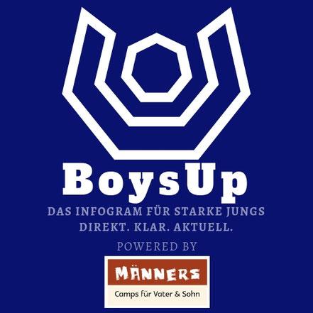 BoysUp - Infos und Motivation für starke Jungs