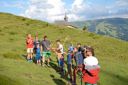 Wanderurlaub mit Kindern in den Kitzbühler Alpen
