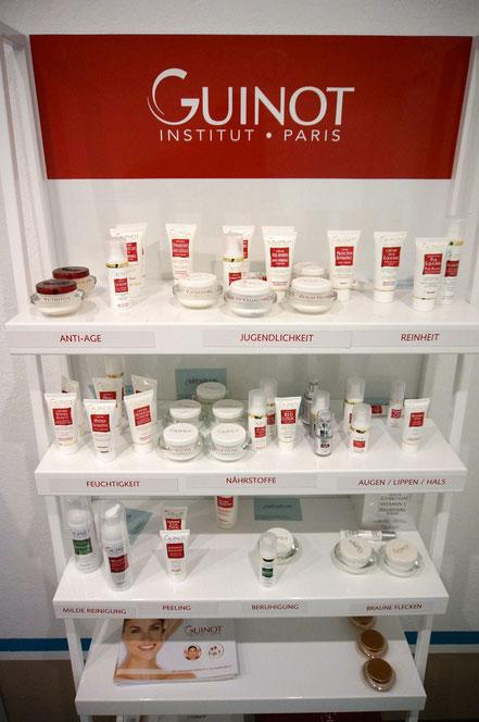 Guinot-Produkte, spezielle Pflegefür jede Haut