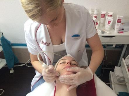 Kosmetikbehandlung, Mikrodermabrasion, Denise Frank, aestheticals, Kosmetik,