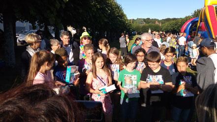 Dictionnaires Français/anglais offerts par la municipalité aux futurs collégiens