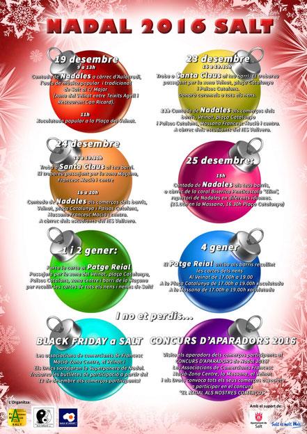 Activitats Nadal 2015/16 Els Dracs CiV Salt