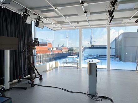 Errichtung des neuen Hauptstadtstudios der Mediengruppe RTL