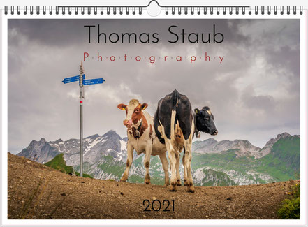 Deckblatt Landschaftskalender 2021 Thomas Staub Photography