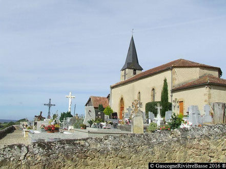 Chapelle Eglise de cayron Beaumarchès Rivière-Basse