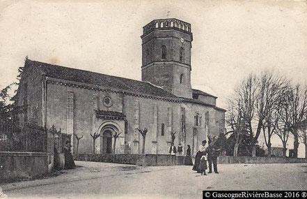 Eglise Abbatiale romane Maubourguet début XXième 1900