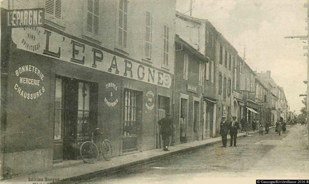 Rue Adour Plaisance du Gers
