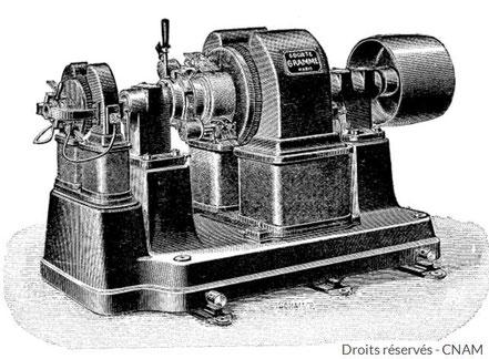 Dynamo de Gramme Rosapelly électricité Plaisance du Gers