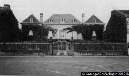 Maison Labordère à Plaisance du Gers Souvenir Français