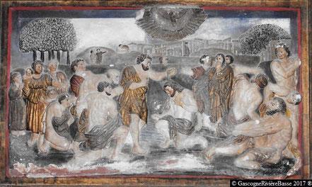 Le Baptême du Christ à Galiax Chavauty