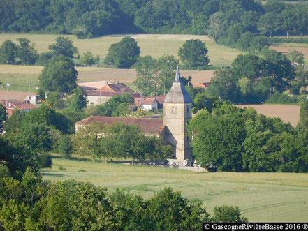 Eglise Saint-Laurent de Théus Ladevèze-Rivière Gers