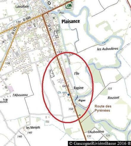 Quartier Rapine Plaisance du Gers Rue des Pyrénées