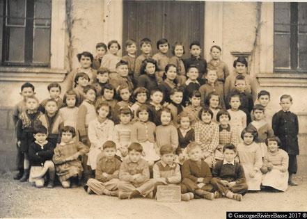école de ladevèze-Rivière 1954 autrefois