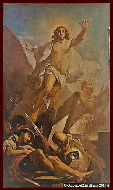 La Résurrection du Christ Alexandre Magenc Eglise Plaisance-du-Gers