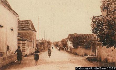 Quartier Rapine Plaisance du Gers Rue des Pyrénées 1935