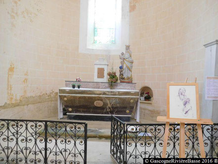 Marciac chapelle Notre Dame de la Croix