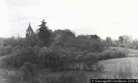 Clocher de la Madeleine Ladevèze-Ville Gers