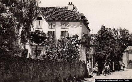 Dugers Préchac sur Adour Epicerie Restaurant 1950