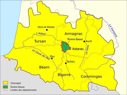 La Rivière-Basse en Gascogne armagnac  gers hautes-pyrénées