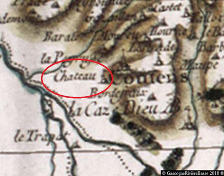 Château Esparbès de Lussan Beaumarchès Coutens
