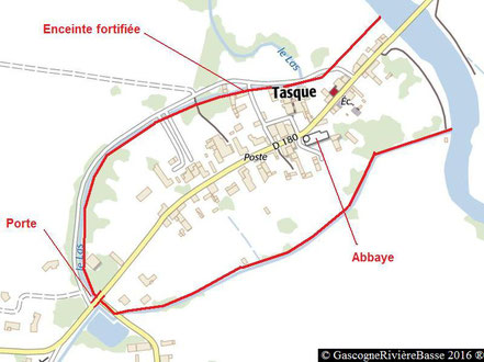 Tasque Gers Bourg ecclésial