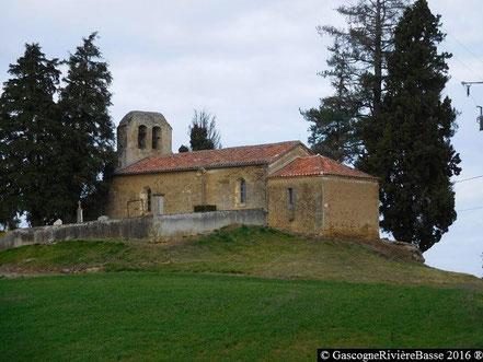 Chapelle église de Ricau Beaumarchès Rivière-Basse