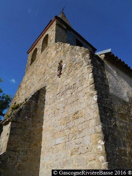 Eglise de Castex Ladevèze-Ville Gers