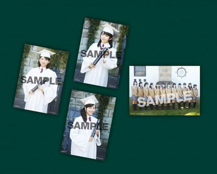 Gakuin Edition, Raw Photo Set