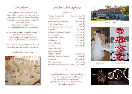 Heiraten im Jagdschloss Friedrichsmoor bei Ludwigslust