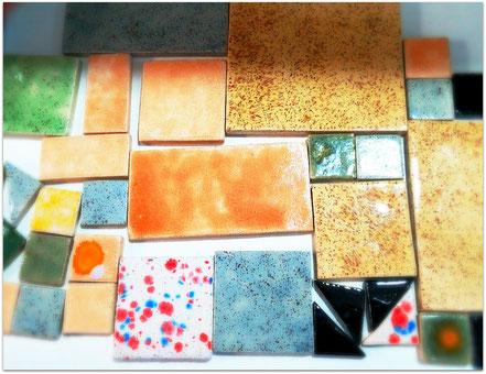 Mosaico de cerámica