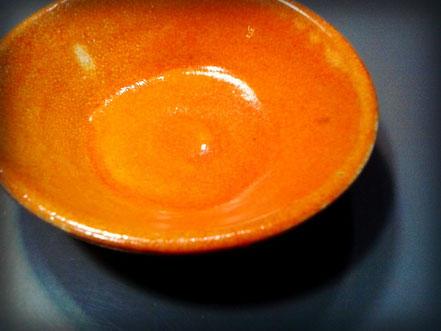 Cuenco de cerámica esmaltado