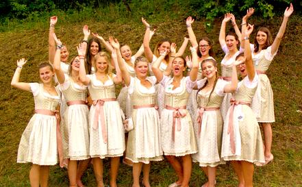... und die feschen Leonberger Mädels