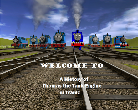 Thomas in Microsoft Train Simulator - thomasintrainzhistory
