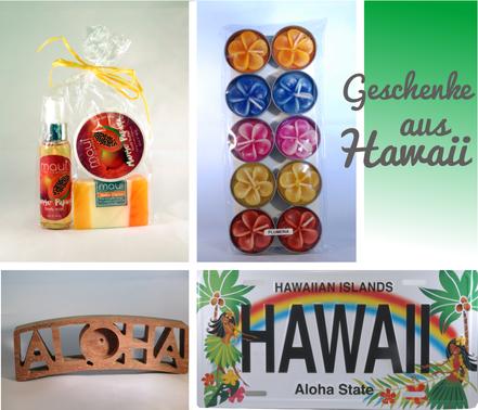 Geschenke aus Hawaii