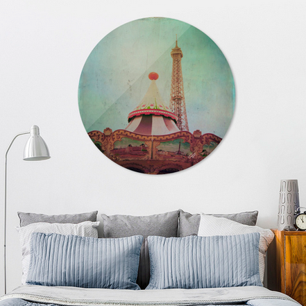 Exclusive Edition of Bohemia of Paris Disk Print only on curioos shop
